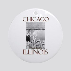 Old Chicago Ornament (Round)