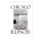 Old Chicago Postcards (Package of 8)