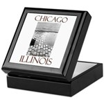 Old Chicago Keepsake Box