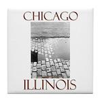 Old Chicago Tile Coaster
