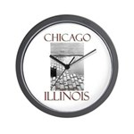 Old Chicago Wall Clock