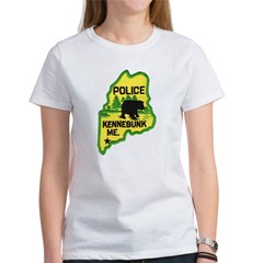 Kennebunk Maine Police Women's T-Shirt