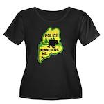 Kennebunk Maine Police Women's Plus Size Scoop Nec