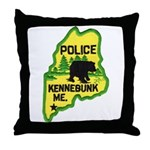 Kennebunk Maine Police Throw Pillow