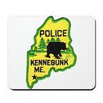 Kennebunk Maine Police Mousepad