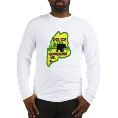 Kennebunk Maine Police Long Sleeve T-Shirt
