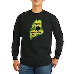 Kennebunk Maine Police Long Sleeve Dark T-Shirt