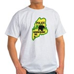 Kennebunk Maine Police Light T-Shirt
