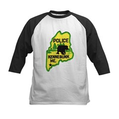 Kennebunk Maine Police Kids Baseball Jersey