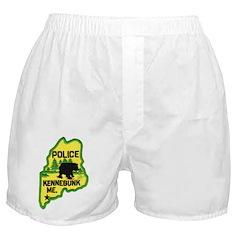Kennebunk Maine Police Boxer Shorts