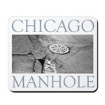 Chicago Manhole Mousepad