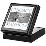Chicago Manhole Keepsake Box