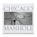 Chicago Manhole Tile Coaster