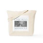 Chicago Manhole Tote Bag