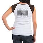 Chicago Manhole Women's Cap Sleeve T-Shirt