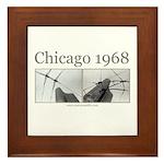 Chicago 1968 Framed Tile