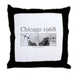 Chicago 1968 Throw Pillow