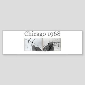 Chicago 1968 Bumper Sticker