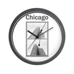 Chicago Lights Wall Clock