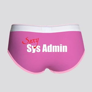 Sexy Sys Admin Women's Boy Brief