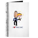 I Love Music Journal