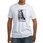Chicago High-rise Fitted T-Shirt