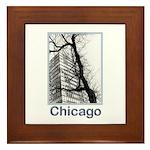 Chicago High-rise Framed Tile