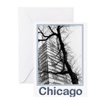 Chicago High-rise Greeting Cards (Pk of 10)