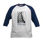 Chicago High-rise Kids Baseball Jersey