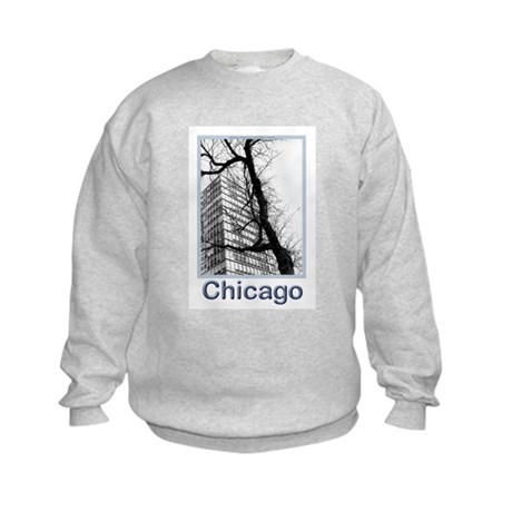Chicago High-rise Kids Sweatshirt