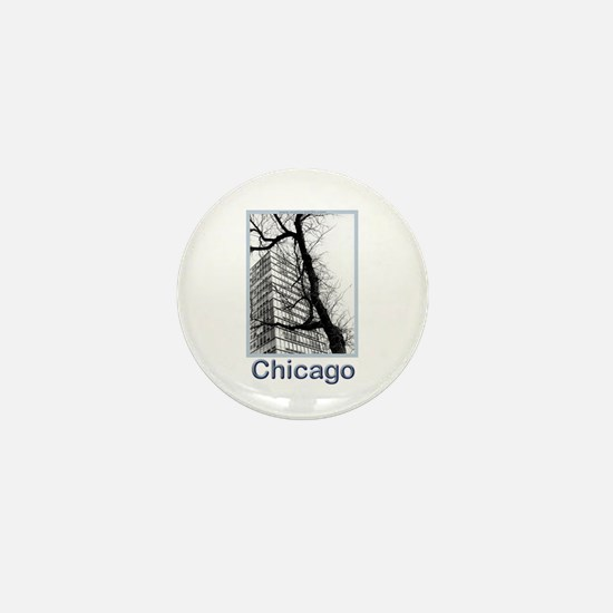 Chicago High-rise Mini Button