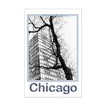 Chicago High-rise Mini Poster Print
