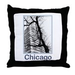 Chicago High-rise Throw Pillow