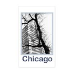 Chicago High-rise Rectangle Sticker