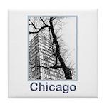 Chicago High-rise Tile Coaster