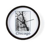 Chicago High-rise Wall Clock