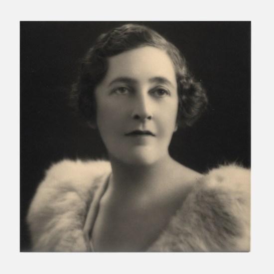 Agatha Christie Tile Coaster