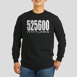 525600 Minutes Long Sleeve Dark T-Shirt