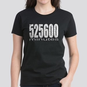 525600 Minutes Women's Dark T-Shirt