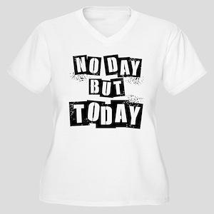 No Day Women's Plus Size V-Neck T-Shirt
