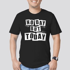 No Day Men's Fitted T-Shirt (dark)