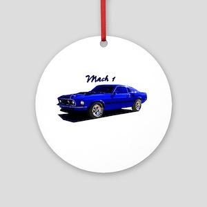 Mach 1 Ornament (Round)
