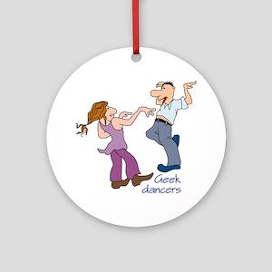 Hard Rock Dancers Ornament (Round)
