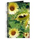Gorgeous Sunflowers Journal