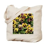 Fizzy Lemonberry Pansy Tote Bag