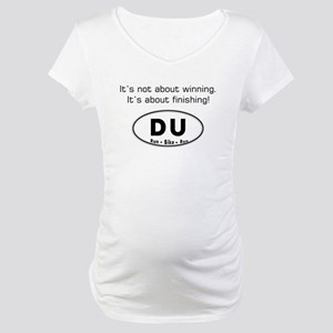 Duathlon Maternity T-Shirt