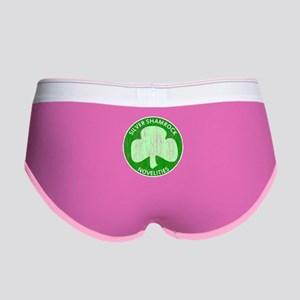 Silver Shamrock Women's Boy Brief