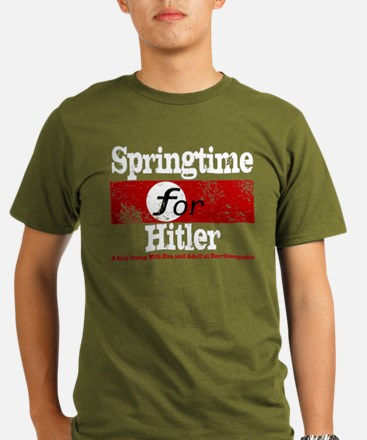Springtime for Hitler Organic Men's T-Shirt (dark)