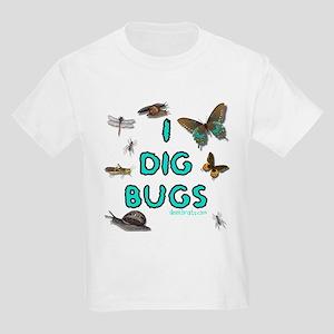 I Dig Bugs Kids T-Shirt