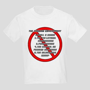 Anti-Masonic Kids Light T-Shirt